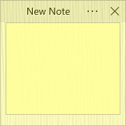 Simple Sticky Notes - Theme Bamboo - Screenshot [1]