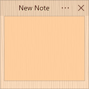 Simple Sticky Notes - Theme Bamboo - Screenshot [2]