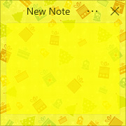 Simple Sticky Notes - Theme Christmas - Screenshot [2]