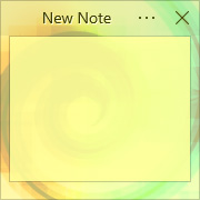 Simple Sticky Notes - Theme Color Vortex - Screenshot [1]