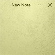 Simple Sticky Notes - Theme Concrete - Screenshot [1]