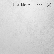 Simple Sticky Notes - Theme Concrete - Screenshot [2]