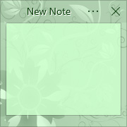 Simple Sticky Notes - Theme Spring Flower - Screenshot [1]