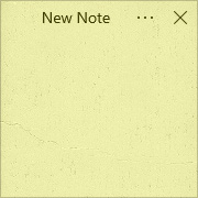 Simple Sticky Notes - Theme Stone - Screenshot [1]
