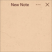 Simple Sticky Notes - Theme Stone - Screenshot [2]